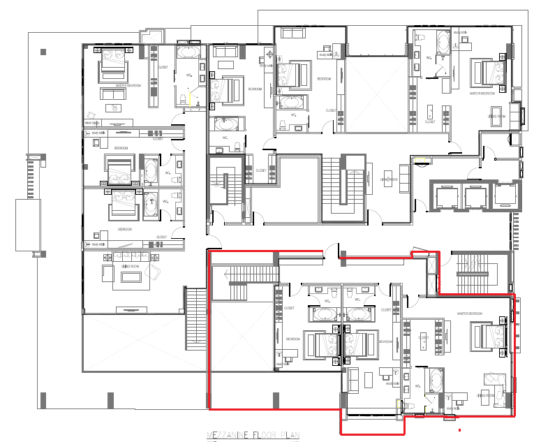 Masterplan Penthouse C(435sqm) 12th floor