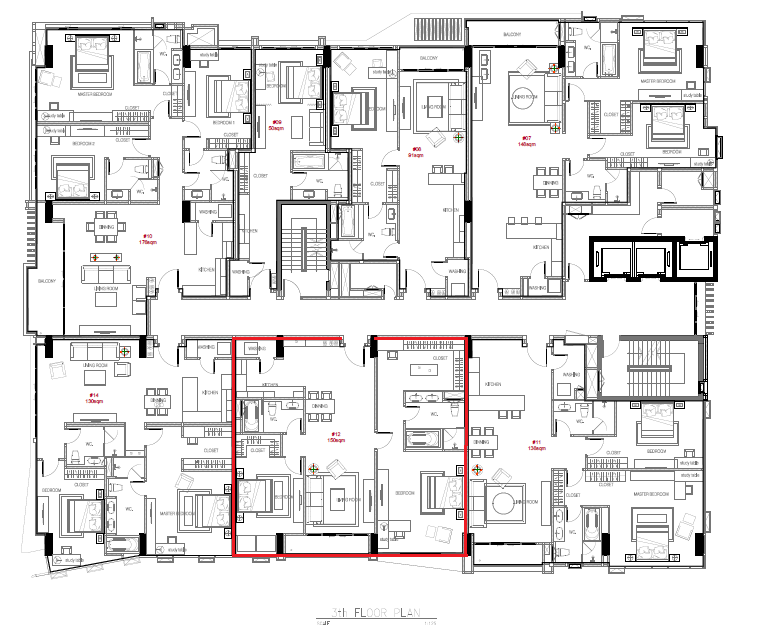 masterplan 2bed(150sqm)